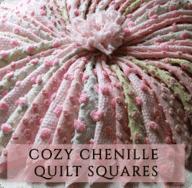 Chenille Quilt Squares